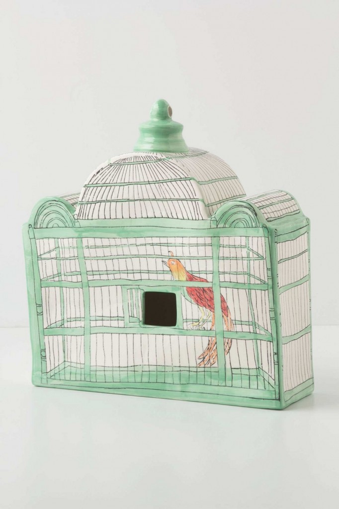 Trompe L'Oeil Birdhouse, Partridge, Anthropologie