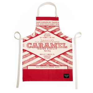 Gillian Kyle Tunnocks Caramel Wafer Wrapper Apron