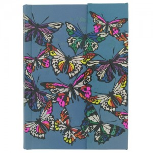 Night Butterflies Magnetic Small Notebook, Paperchase