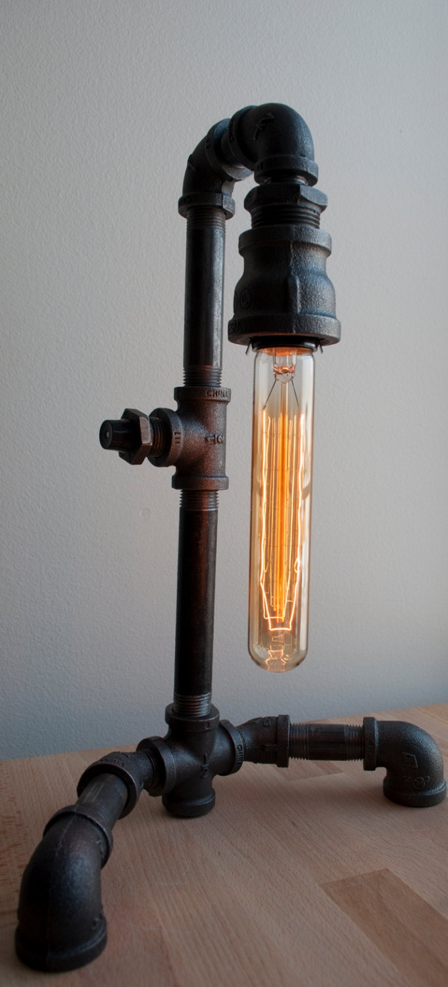 Trends industrial pipe lights homegirl london for Pipes and lights