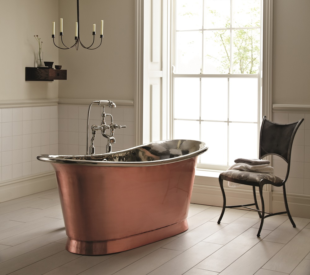 Babylon Copper Bath from Fired Earth