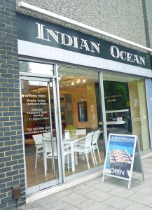 Indian Ocean, Chiswick High Road, Homegirl London