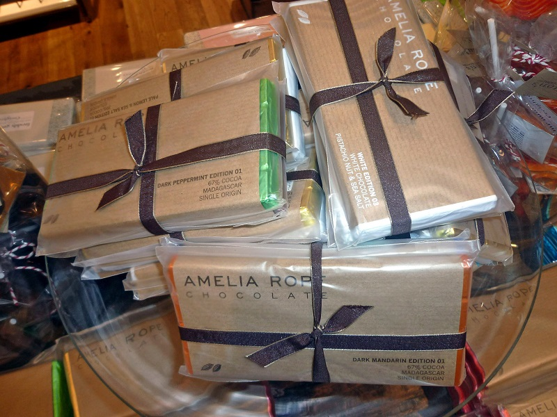 Christmas Gift Ideas, Liberty London, Amelia Rope Chocolate Bars