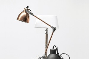 copper lighting pendants plus desk lamps brighten every room