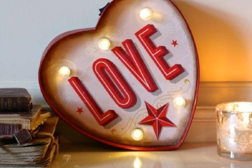 vintage style lighting retro valentine gifts