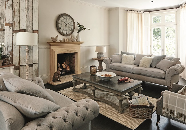 Living Room Style Ideas Modern Country Sitting Room Homegirl London
