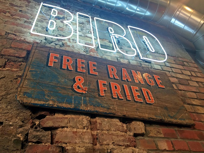 Bird fried chicken restaurant islington homegirl london