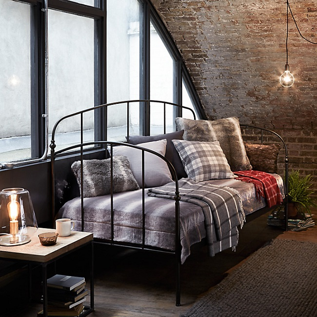 bold industrial bedroom furniture ideas homegirl london