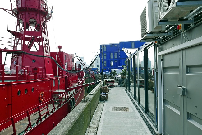 trinity buoy wharf recording studio red ship