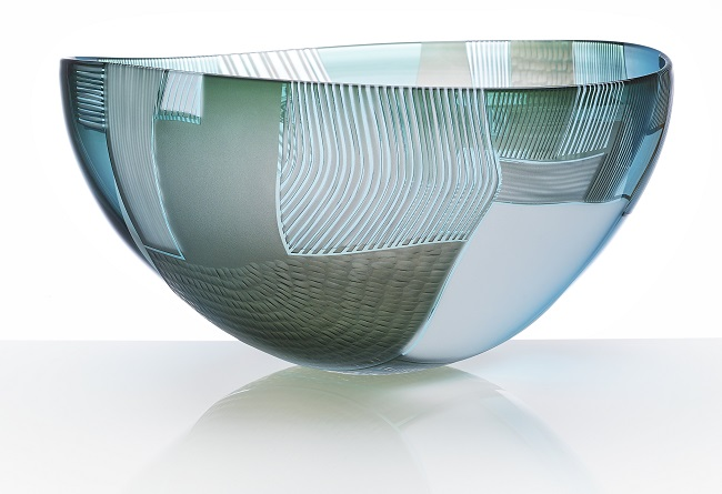 british designer makers gillies jones glass bowl