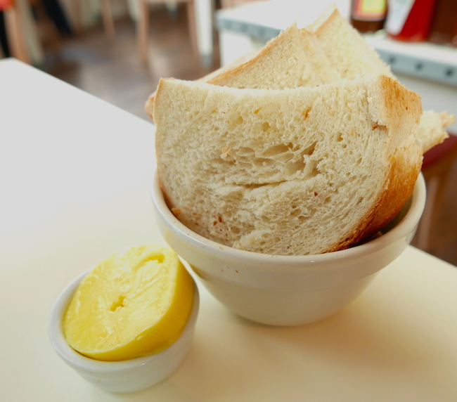 albion clerkenwell bread and butter